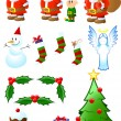 Stock Vector: Christmas Collection