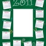 Calendar 2011 — Stock Vector