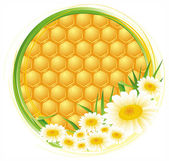 Honeycomb background — Stock Vector