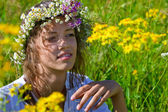 Russian girl — Stock Photo