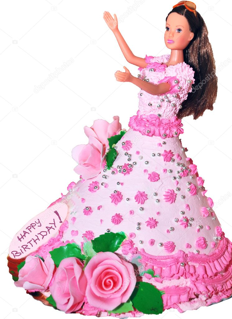 Doll Cakes Images Birthday Cake With a Doll