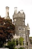Casa Loma, castle in Toronto — Stock Photo