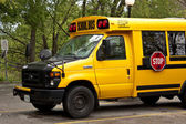 Yellow bus — Stock Photo