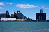 Detroit city, USA — Stock Photo