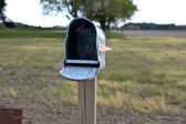 Open mailbox — Stock Photo