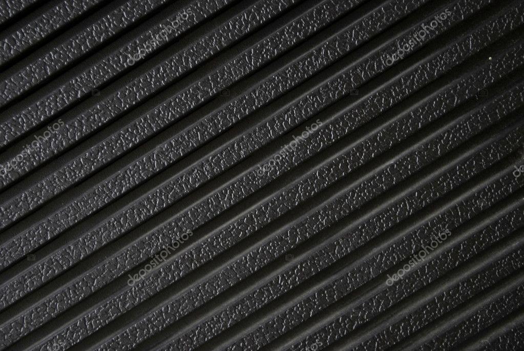 黑色塑料表面纹理– 图库图片