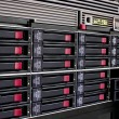Data storage rack - Stock Photo