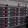 Data storage rack — Stock Photo