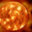 Stockfoto: The Sun Illustration