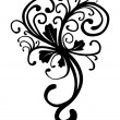 Vines Floral Motif - Stockfoto