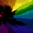 Technicolor Syzygy - Multicolor shattered rainbow background — Stock Photo #2955630