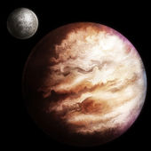 Jupiter Illustration — Stock Photo