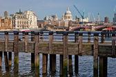 Widok na Londyn — Zdjęcie stockowe