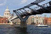 Millenium Bridge — Stock Photo