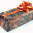 Stock Photo: Ornament Gift Box With Orange XXL