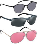 Sunglasses isolated with clipping path — Stock Photo