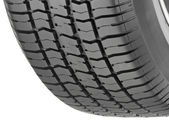 Illustration of Car Tire — Stock Photo