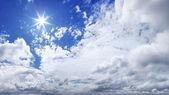 XXXL Blue Sky panorama — Stock Photo