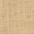 Close-up of natural burlap hessian sacking — Stock Photo