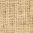 Close-up of natural burlap hessian sacking — Stock Photo #3676441