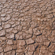 Stock Photo: Cracked and Arid Mud Ground Dry without water