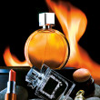 Stock Photo: Cosmetics and Perfumes