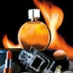 Cosmetics and Perfumes — Stock Photo