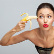 Banana gangster. - Stock Photo