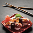 Tempting nigiri. — Stock Photo