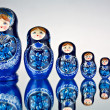 Matryoshka. — Stockfoto