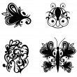 Samples tatoo images — Stock Vector