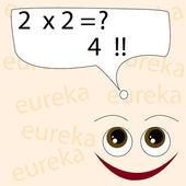 Eureka — Stock Vector
