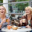 Mother and daughter having fun — Stock Photo #2948087