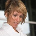 Blond businesswoman — Stock Photo #2948533