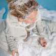 Winter bride — Stock Photo
