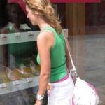 Window shopping — Stock Photo