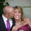 Kissing the bride — Stock Photo #2949210