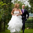 Runaway bride — Stock Photo #2949230