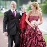 Happy newlyweds — Stock Photo #2949233