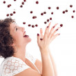 Catching the cherries — Stock Photo #2949459