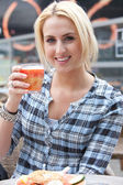Healthy drink — Stock Photo