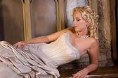 Krásná blondýna — Stock fotografie