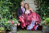 Wedding fun — Stock Photo