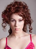 Gorgeous redhead — Stock Photo