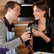 Having a toast — Stock Photo