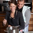 Cooking together — Stock Photo #2950872