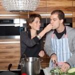 食べ物を切断 — ストック写真