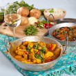 Indian dishes — Stockfoto