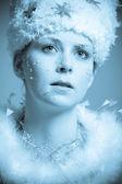 Snowqueen — Stock Photo