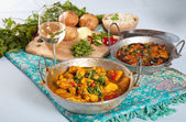 Indian dishes — Stock Photo